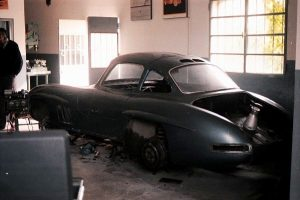 Mercedes Benz Gullwing-Barnfind- @willyorsat