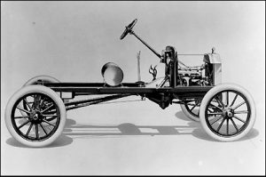 chassis ford t