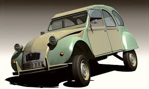 citroen 2cv suspension